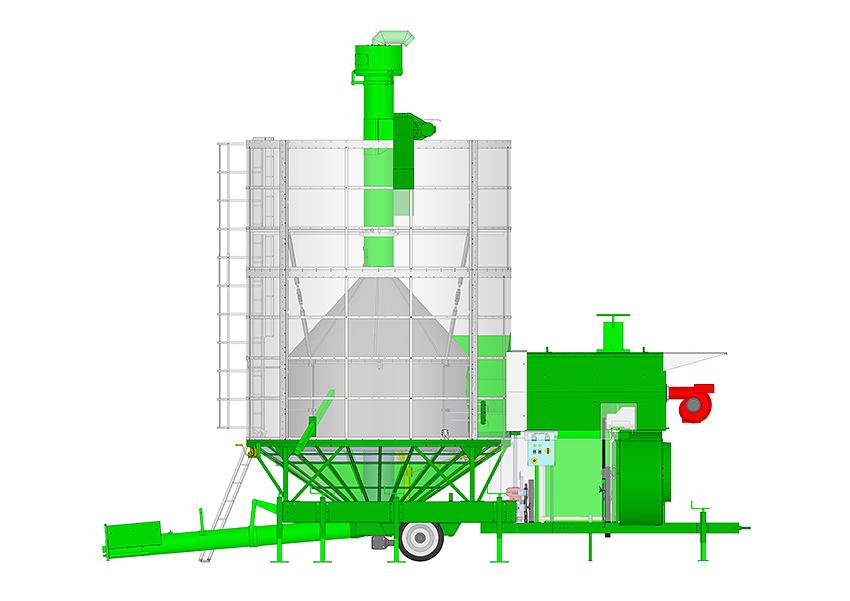 Essiccatoio cereali e semi bio