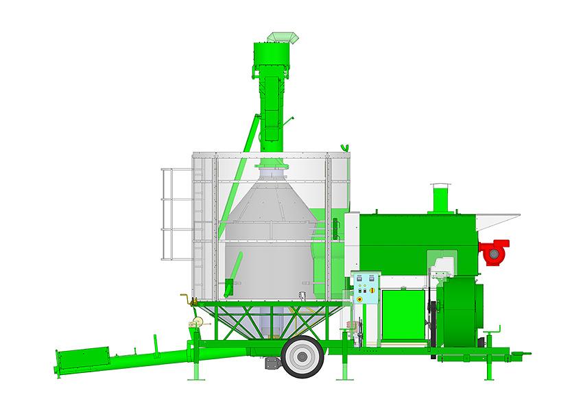 Essiccatore per cereali bio