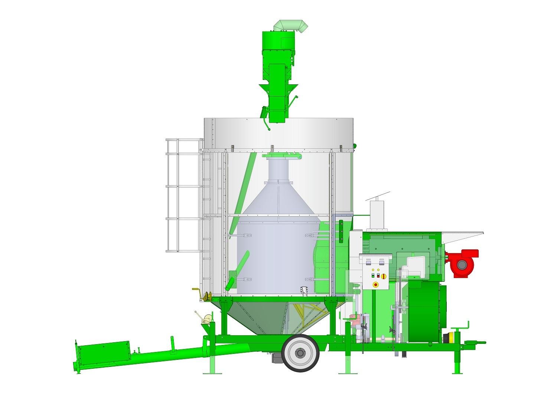 essiccatoio bio per cereali - mobile